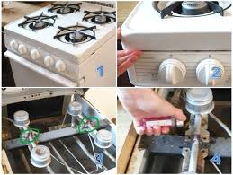 how to light a pilot light on a gas stove