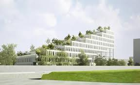 Sustainable office building Commercial Property The Building Carries Green Areas On Every Level Which Apart From Beautifying The Structure Also Reduces The Heat Gain During Daytime Future Architecture Future Architecture Nl Architects Sozawe Sustainable Office Building