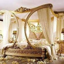 Canopy Bed Full Size Bailey Brushed Copper Full Size Canopy Bed ...