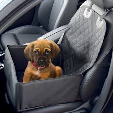 2 in 1 dog booster car seat cover