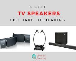 speakers for tv. best tv speakers for hard of hearing tv