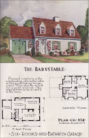 small cape cod house plans.  Plans 1950 Nationwide House Plan Service  The Barnstable For Small Cape Cod Plans H