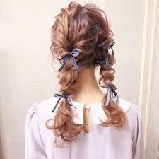 ハーフアップから編み込みまで紹介黒髪ロングのヘアアレンジ特集
