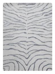 bakero zebra rug silver contemporary floor rugs by the rug retailer 156655052852