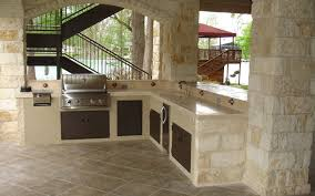 best countertop materials for outdoor kitchens