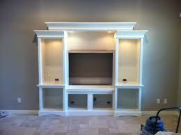 Built In Drywall Shelves Diy Built In Entertainment Center