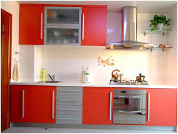 Yellow And Red Kitchen Kitchen Red Storage Units Red Kitchen Cabinets Kitchen Nubeling