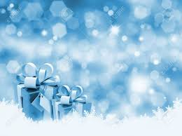 Gifts Background Christmas Gifts On Glittery Gold Background
