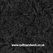 Black with Grey inca Design Quilt Back | Quilt Backs - Extra Wide ... & Calla Black Quilt Backing Fabric Adamdwight.com