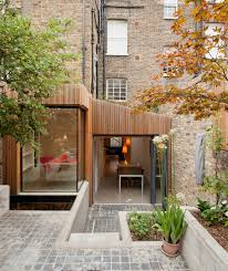 should clad your extension with timber