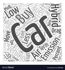 Word Cars Buy Hybrid Cars Word Cloud Concept Royalty Free Vector Image