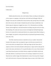 confucianism essay confucianism essay han confucianism was the  2 pages east asian history