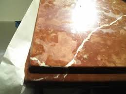 etched countertop red alicante