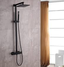 Sedal Thermostatic Shower System 8921b Basic Black