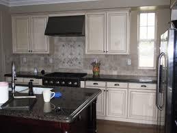 Kitchen Cabinet Antique White Black Island Thebedroomdesigncom