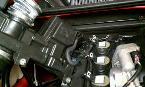 hummer x forum • view topic 06 h3 spark plug replace w pics pic of airbox vent tube and valve cover breather jpg