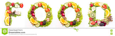 the word food made out of food. Exellent Out Word Food Made Of Salad And Fruits With The Food Made Out Of E