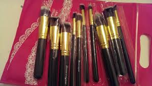 bestope affordable makeup brush set review