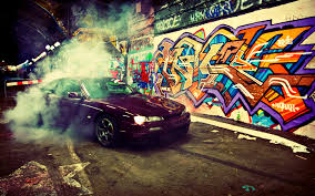 wallpapers hd abstract graffiti. Delighful Graffiti Cool Graffiti Burnout Car Wallpaper In Wallpapers Hd Abstract A