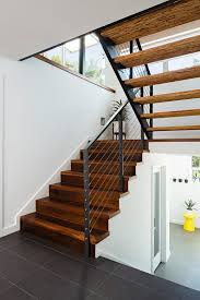 marvelous modern stair treads on staircase contemporary with synthetic area rugs