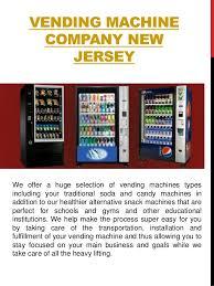 Vending Machine Companies In Nj Adorable Vending Machines NJ