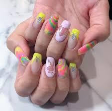 画像動画 Neoncolornailインスタグラム