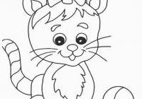 Free Printable Cat Coloring Pages For Kids For Coloring Pages Of