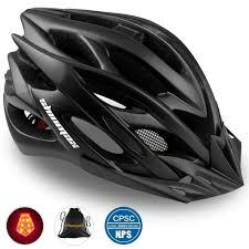 Zefal Helmet Light Shinmax Bike Helmet Cpsc Ce Certified Adjustable Light