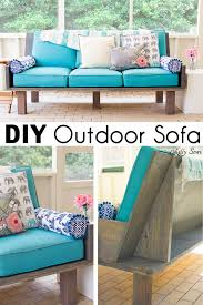 diy outdoor sofa. Make A DIY Outdoor Sofa From Plywood - Love The Minimalist Lines! Melly Sews Diy