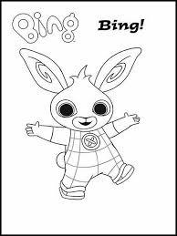 Ausmalbilder Druckbare Bing Bunny 3 Bing Disegno Coniglio