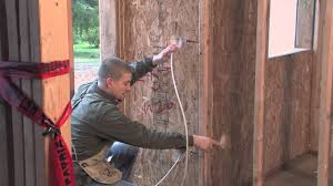 rough in electrical wiring on a sip home