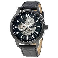 invicta vintage automatic black skeleton dial men s watch 22580