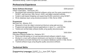 resume building software