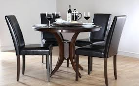 wooden round dining tables dining room great amusing black wood table and chairs best for creative