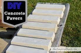 diy concrete pavers concrete pavers