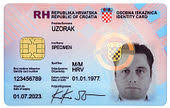Work Identity Card Identity Document Wikipedia