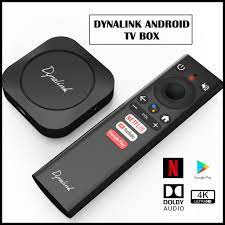2020] Dynalink Android TV Box   Android 10   4K HDR   Dolby Audio   Netflix  Certified   Chromecast Builtin