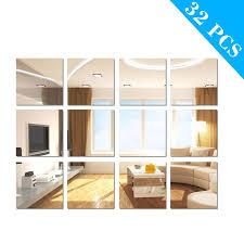 tsv 32 pieces flexible mirror sheets