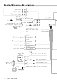 kenwood kdc x898 wiring diagram kenwood image connecting wires to terminals kenwood kdc x898 user manual on kenwood kdc x898 wiring diagram