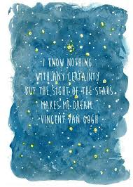 Dream For The Stars Quote Best of I Know Nothing With Certainty But The Sight Of The Stars Makes Me