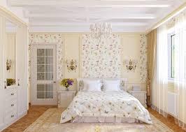 interior design bedroom vintage. Shabby Chic Bedroom Vintage Unique Floral Wallpaper Ideas Interior Design