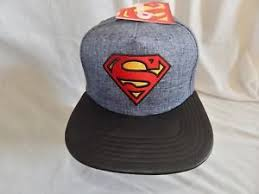 Comic Book Size Chart New Superman Movie Snapback Hat Cap Justice League Comic