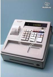 sharp xe a107. sharp electronic cash machine xe-a107-wh xe a107 c