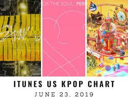All Kpop Chart Itunes Us Itunes Kpop Chart June 23rd 2019 2019 06 23