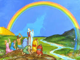 Image result for Images for Noah and the rainbow