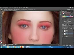 face makeup in photo tutorial cs6