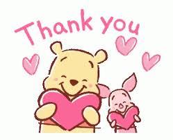 Baby Thankyou Thank You Baby Pooh Gif Thankyou Babypooh Disney Discover