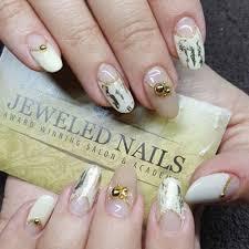 22 Jeweled Nails To Make You Really Sparkle   more.com