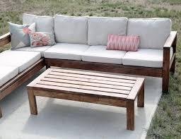 Ana White Build a Outdoor Coffee Table Free and Easy DIY Project and  Furniture Plans