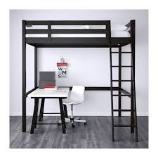 STOR Loft bed frame IKEA You can use the space under the bed for storage,